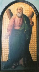 Ο Άγιος Ανδρέας. Φορητή εικόνα παλαιού Ι. Ναού.